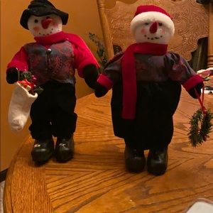 Other - Mr. & Mrs. Snowman figures